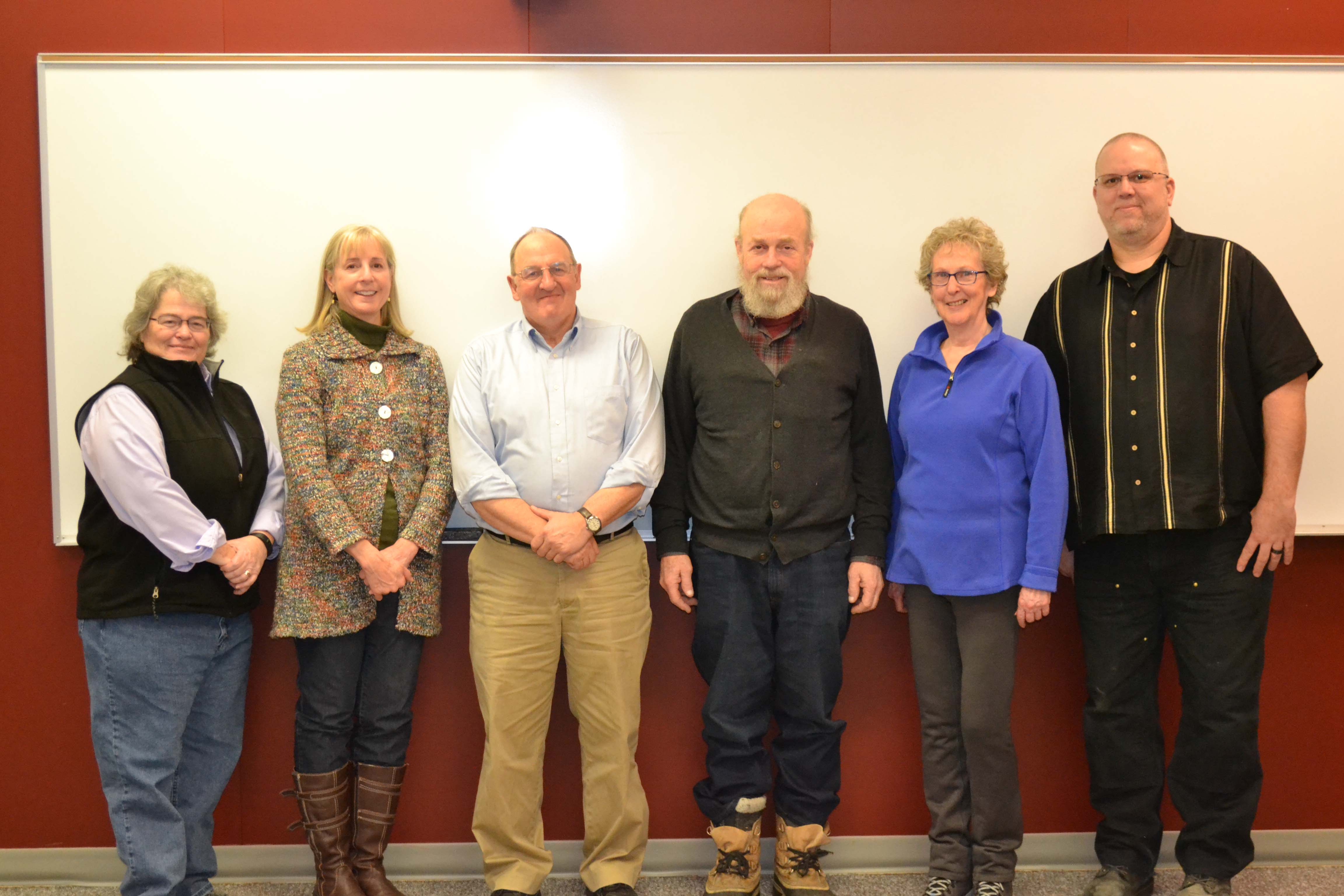 6 of the current Kodiak college advisory board members as of February 2020
