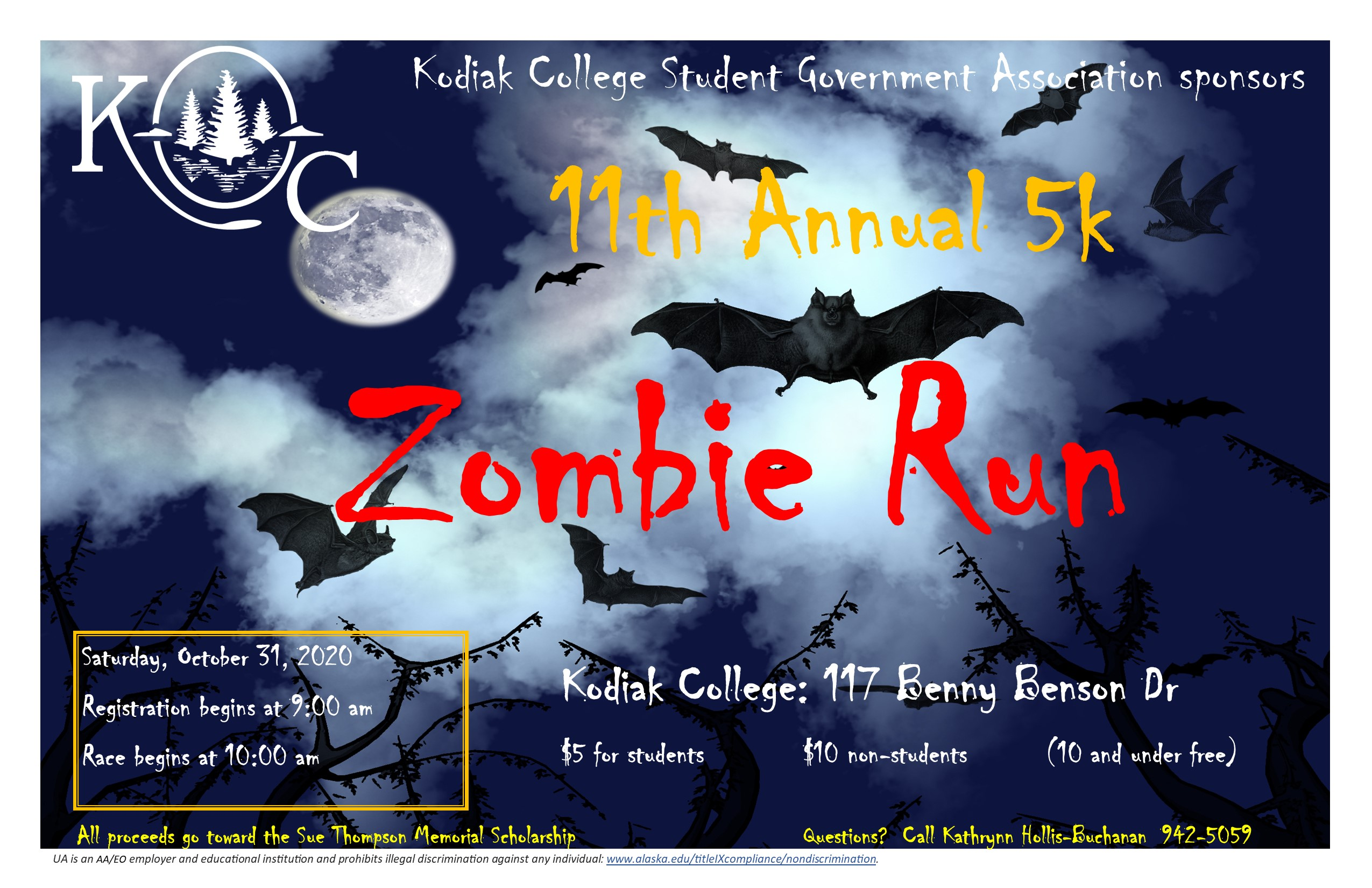 zombie run flyer for information please see the webpage