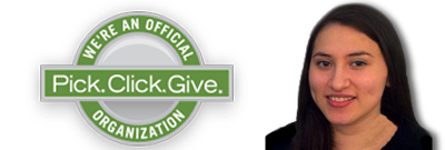 We're an Official Pick Click Give organization
