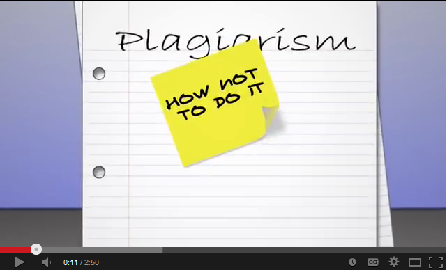 plagirism: how not to do it